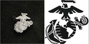 USMC-United-States-Marine-Corps-Eagle-Globe-Anchor-Lapel-Pin-Silver-Tone