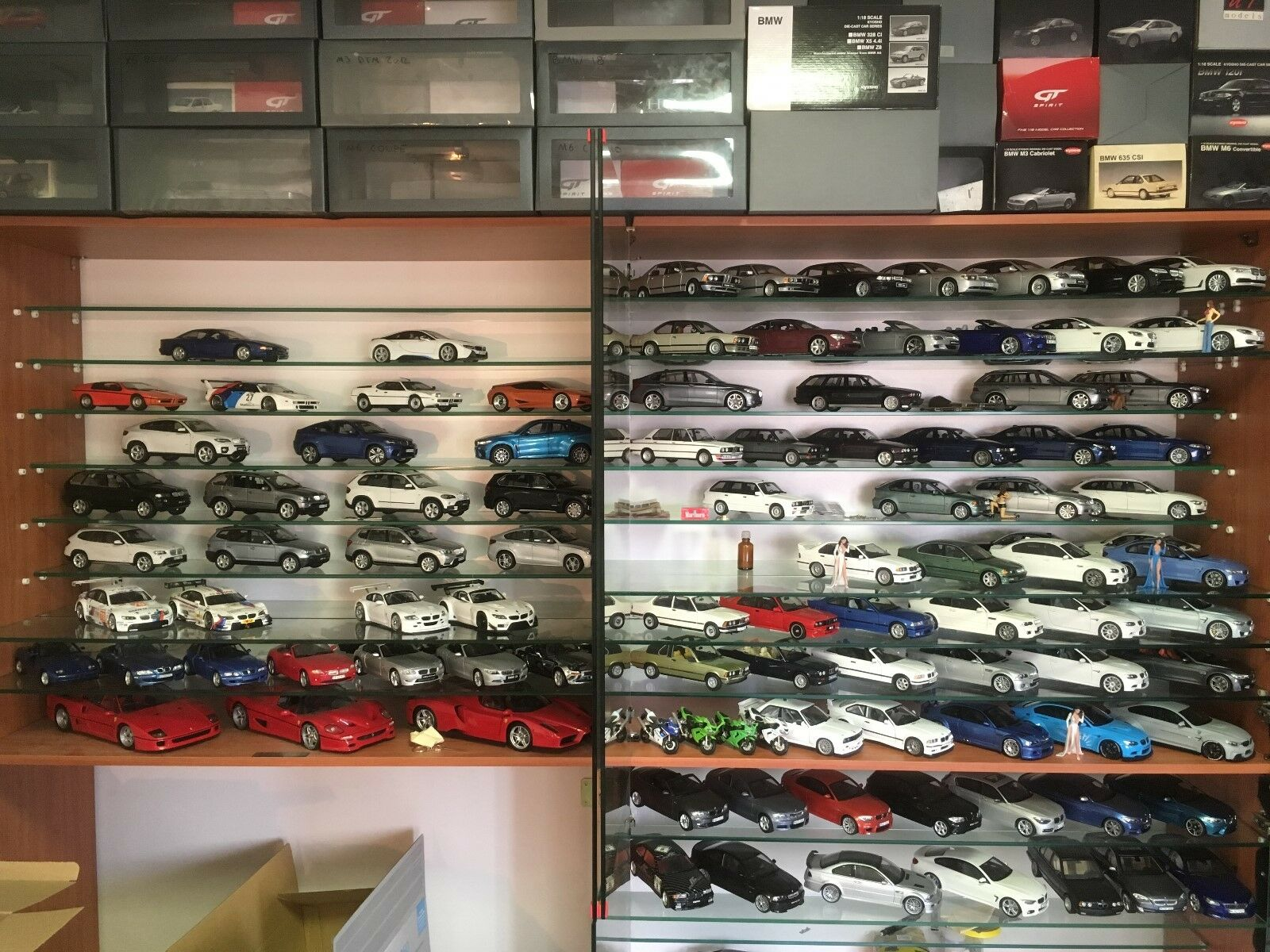Diecast 1 18 scale, FULL BMW BMW BMW collection 100 models a042f0