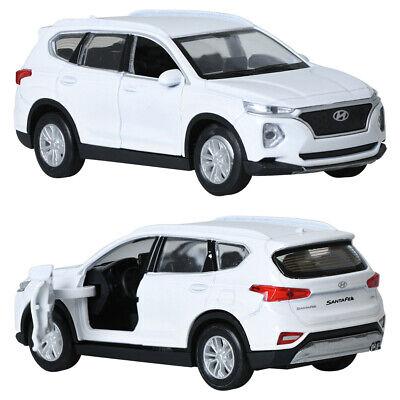 Mica 1 38 Hyundai Santafe Tm White Display Mini Car Miniature Car 8809245340443 Ebay