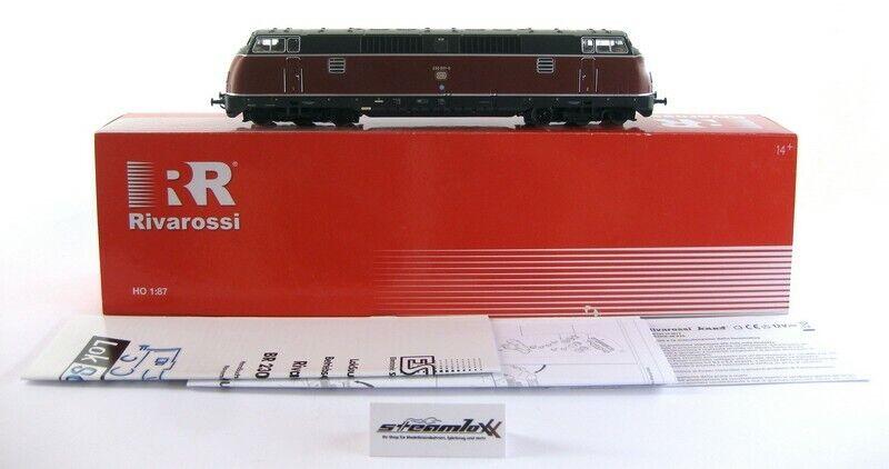 Rivarossi HR 2050 H0 Diesellok Br. 230 001-0 Digital ESU Sound OVP X00001-24772
