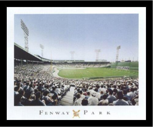 FRAMED Fenway Park Painting by Darryl Vlasak 16x20 Art Print Boston Red Sox