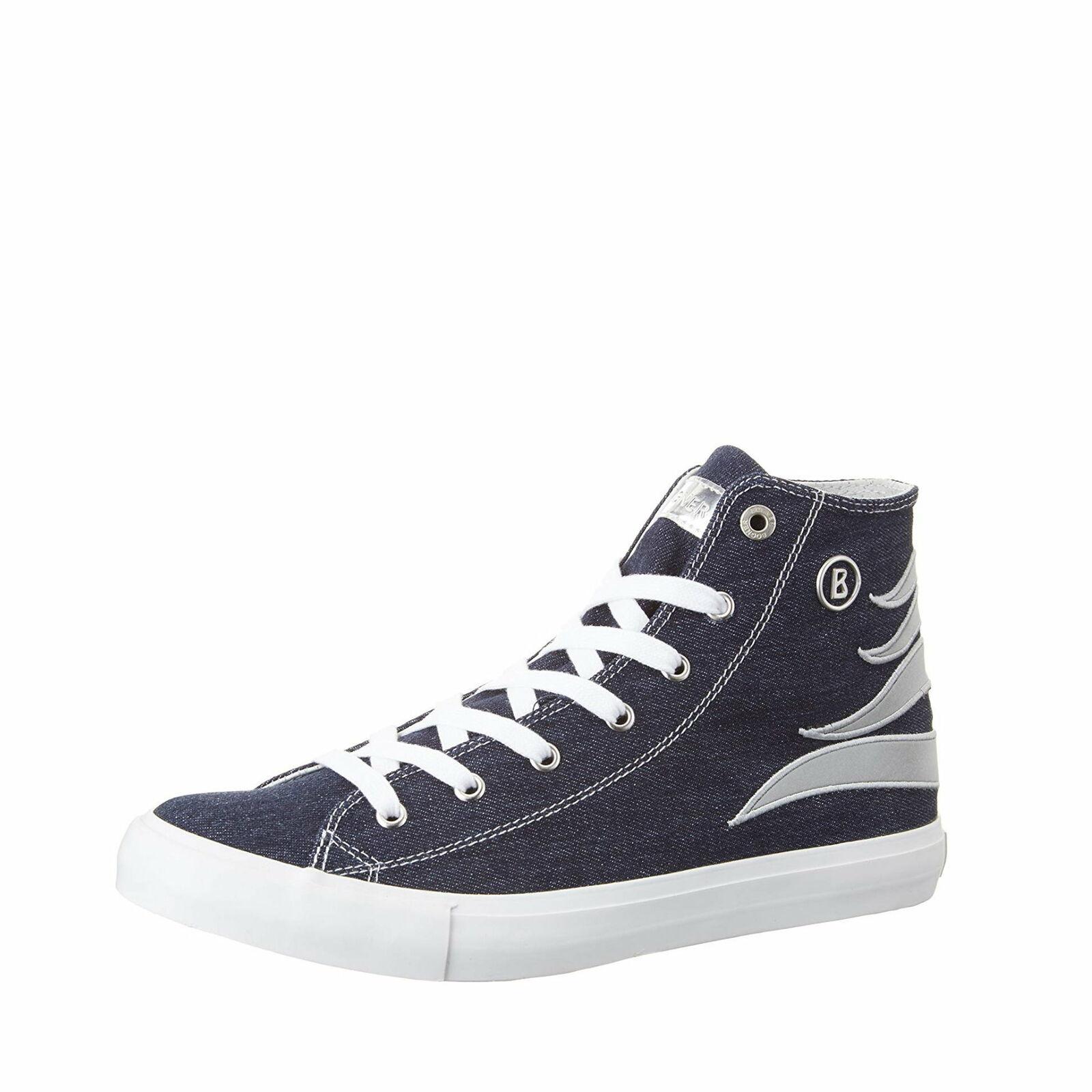 BOGNER New Jersey Lady 1 Turnschuhe Schuhe High-Top, Größe  36 EU -to- 38 EU   Blau