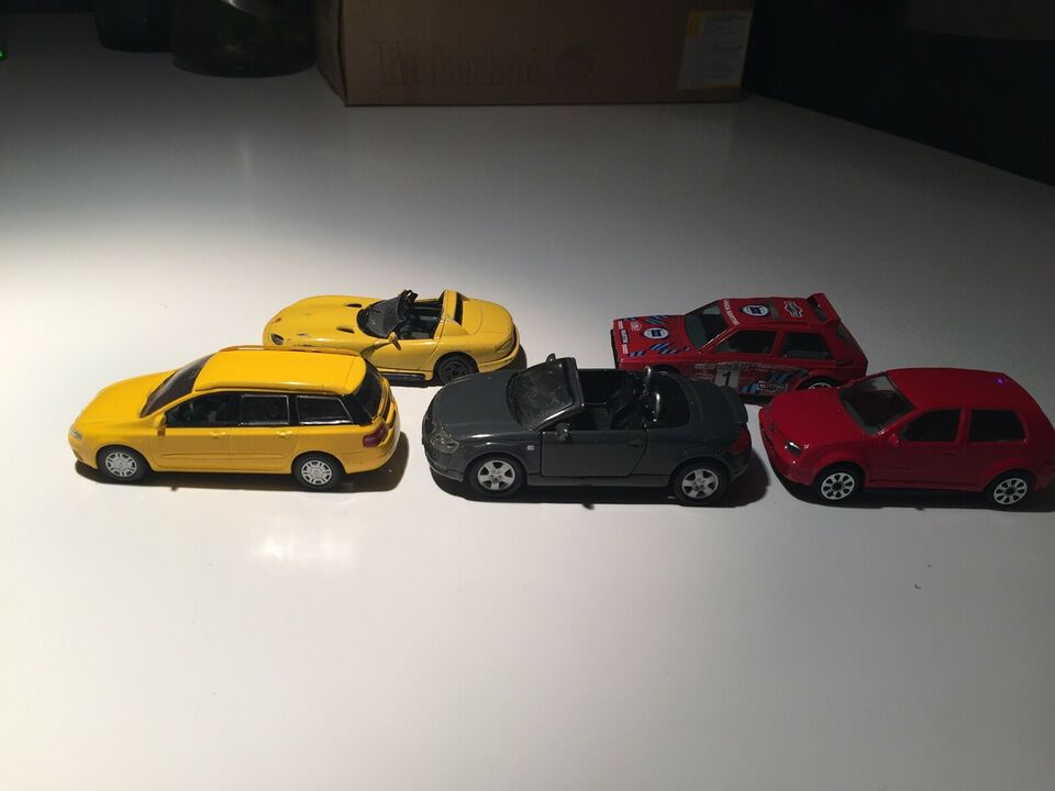 Legetøjsbiler, Div.