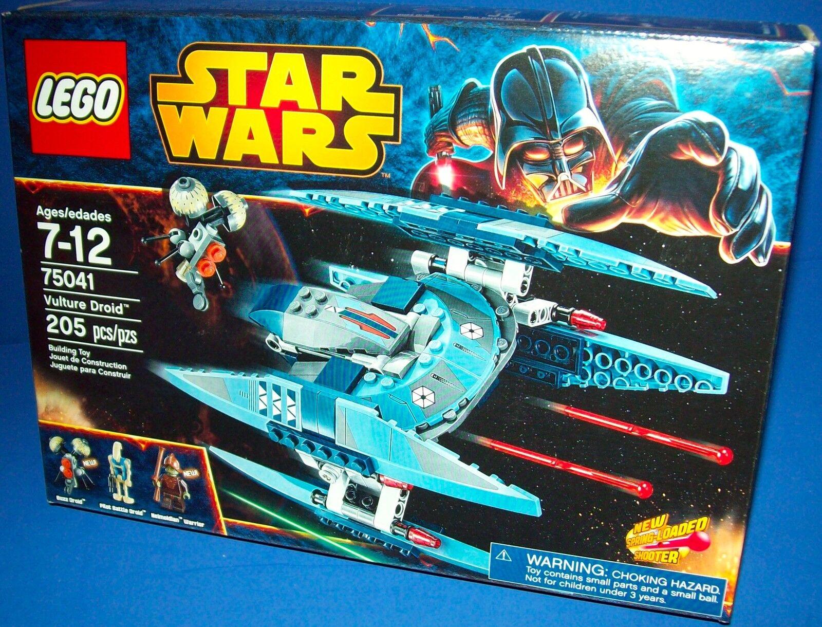 Lego 75041 Buitre Droide  Star Wars Precinto de Fábrica  Jubilado Nuevo,en