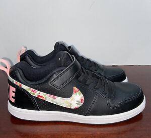 Frente a ti Adaptabilidad Todo el mundo  Nike Girls Court Borough Low Vintage Floral Casual Sneakers Size 2.5y  BQ7032 001 | eBay