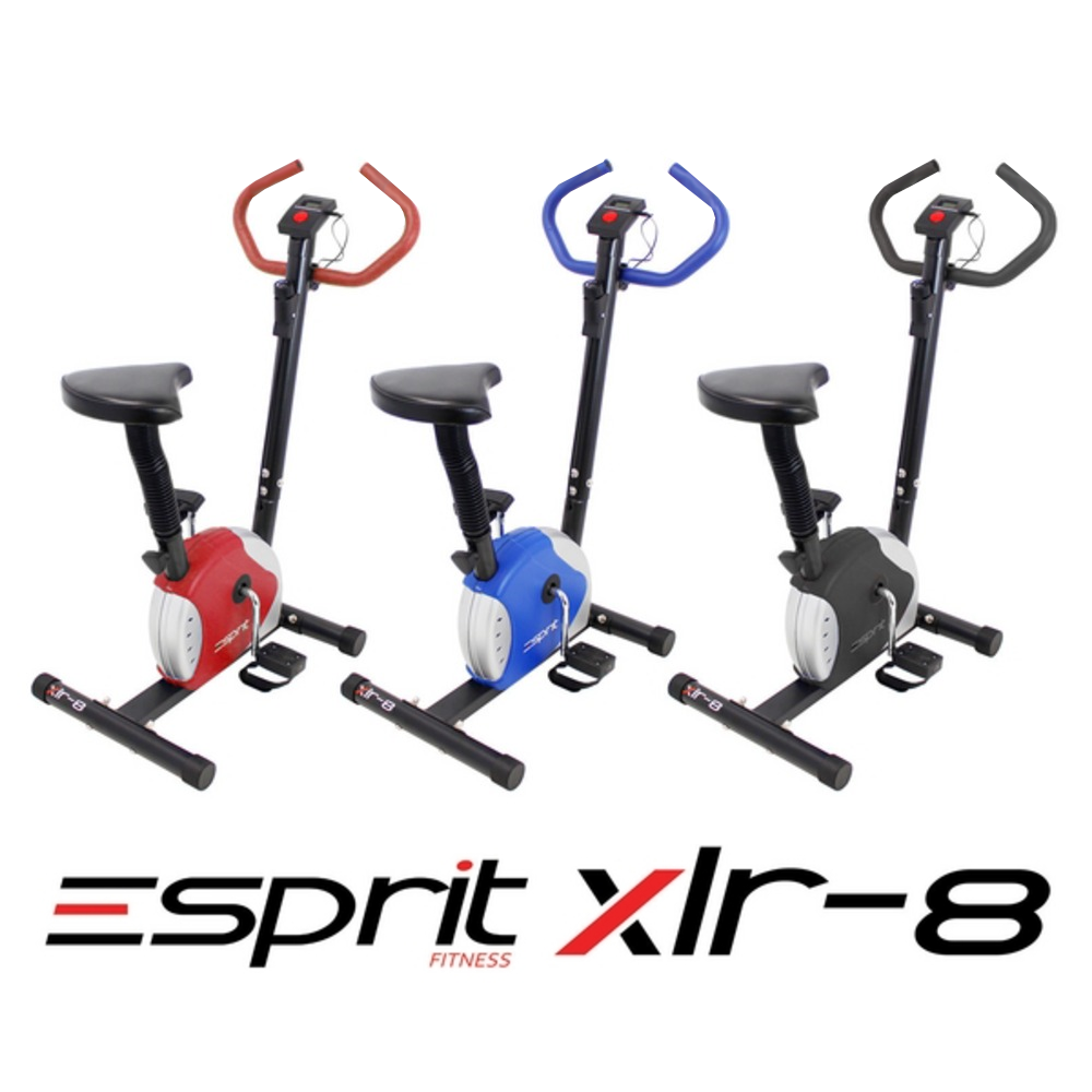 Esprit Fitness XLR-8 Exercise Bike Adjustable Resistance Cardio Workout Workout Workout 2c32ad
