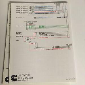 isb wiring diagram wiring diagrams Chassis Wiring Diagram cummins isb cm2150 wire diagram 4021572 ebayimage is loading cummins isb cm2150 wire diagram 4021572