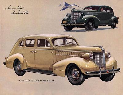 1938 Chevrolet Master Deluxe Sedan 40 MIL THICK Refrigerator Magnet