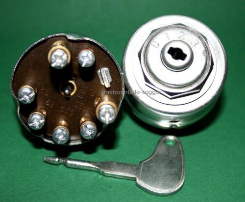 mit Zündschlüssel für Hanomag R 16 R19 R 22 R 27 R 35 R 45 Zündschloss 0123 kpl