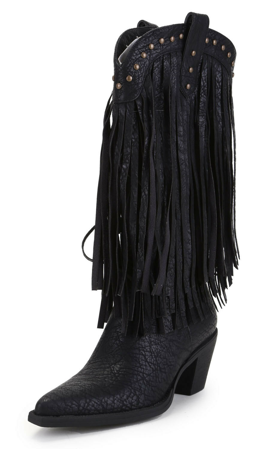 Ann Creek Women's Women's Women's 'Alley' Fringed Stud Boots fac60d