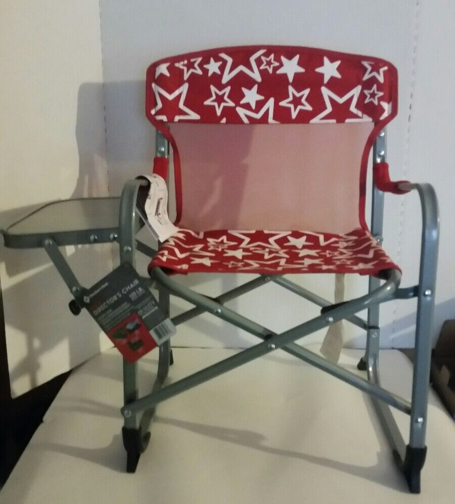 Members Mark Director's Chair with  Side T   100% authentic