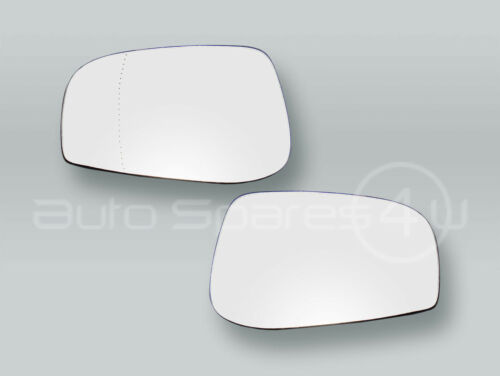 Heated Door Mirror Glass and Backing Plate PAIR fits 2004-2006 VOLVO S60 V70