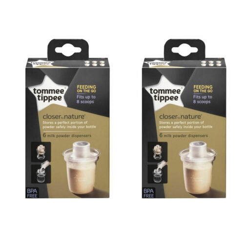 6pk Tommee Tippee CTN Milk Powder Dispensers