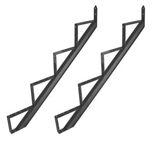 Behelfstreppe Aluminium Treppenrahmen 2 - 6 Trittstufen