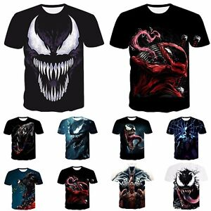 Funny-3D-print-Casual-Men-T-Shirt-Women-Ven-Skull-Fashion-Short-Sleeve-Tops