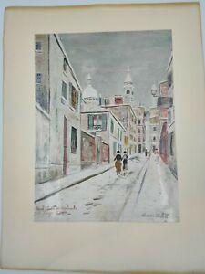 Maurice-Utrillo-Sacre-Coeur-de-Montmartre-and-passage-cottin-1934