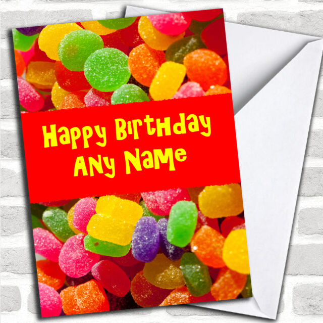 Jelly Tots Children's Personalised Christmas Greetings Card Cards & Stationery Celebrations & Occasions