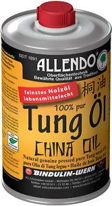 Tungöl 31 60 l tungöl 500 ml flasche reines tung öl natur china