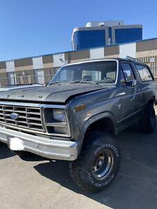 1980 Ford Bronco all terrain