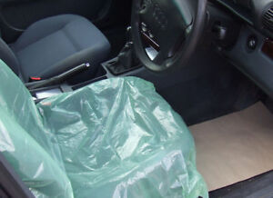 Image Is Loading 8 X Disposable Car Seat Covers Vehicle Protection