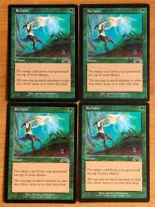 Magic the Gathering Exodus Reclaim x 4 NM