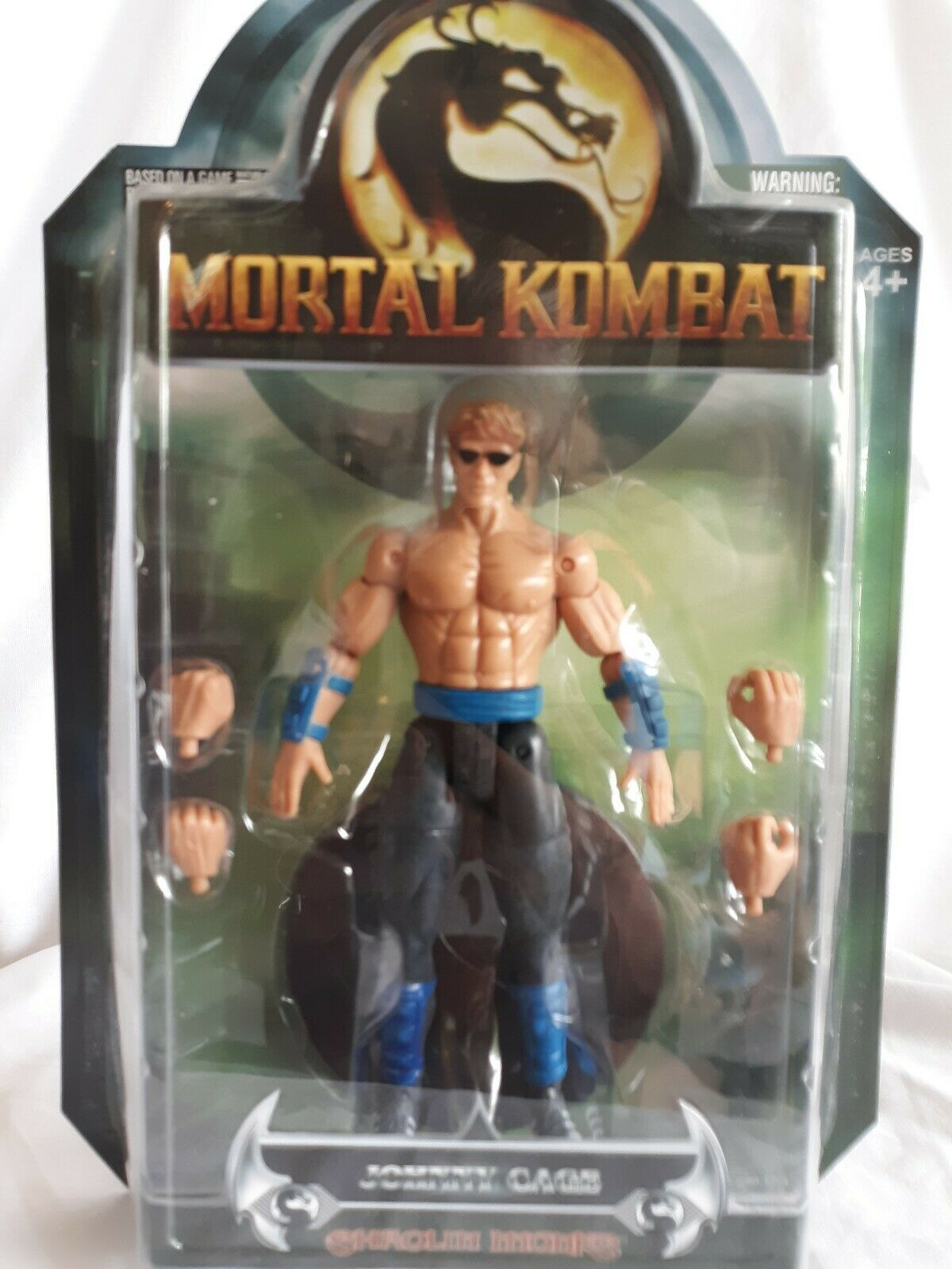 Jazwares Mortal Kombat Deception JOHNNY CAGE Action Figure New A12