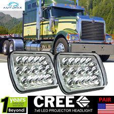 LED Headlights For International IHC Headlight Assembly 9200 9900 9400i Pack 2