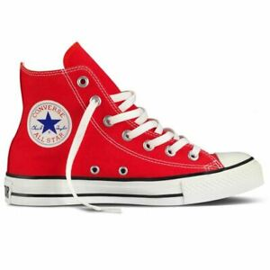 chaussure converse homme rouge