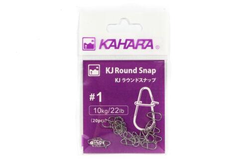 Kahara Round Snap Lure Snap Size 1 6449