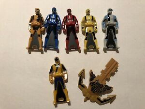 Super Sentai Go-Busters Shinkenger Gokaiger Ranger Key Lot (Gold Mode Key)