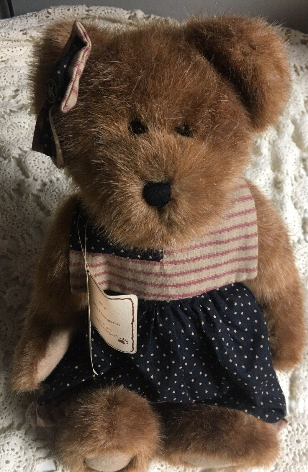 Boyds Bears Betsy B. Bearyproud  99964V 99964V 99964V QVC Exclusive Plush Stuffed Animal 16  38213f