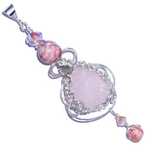 Morganite-Crystal-Handmade-Pendant