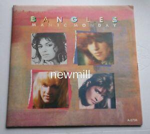 Bangles-7-034-vinyl-singel-Prince-1985-Manic-Monday-poster-sleeve-rare