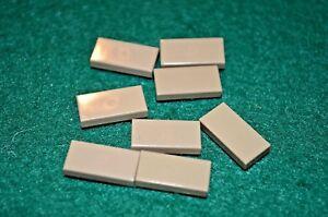 8 BLACK 2X2 Smooth Finishing Tile Brick Bricks  ~ Lego  ~ NEW