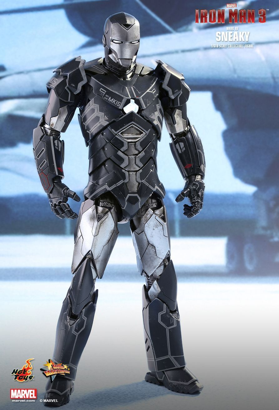 IRON MAN 3 - Mark XV 'Sneaky' 1/6th Scale Action Figure MMS348 (Hot Toys)  NEW
