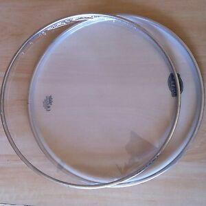 Remo Marque Snare à Reso Batteur Drum Head Skin Pour Evans Cymbale Kit Stand Custom/-afficher Le Titre D'origine Finement Traité