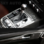 New-8D-Black-Shinny-GLOSSY-Carbon-Fiber-Vinyl-Wrap-Sheet-With-Air-Release miniature 8