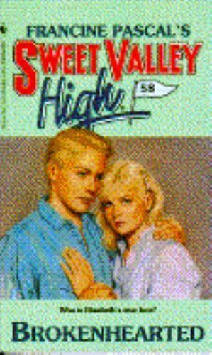 Sweet Valley High Brokenhearted No 58 By Francine Pascal 1989