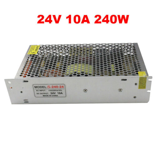 DC 24 V Universal Regulated Switching Power Supply DEL Imprimante 3D CCTV NOUVEAU UK