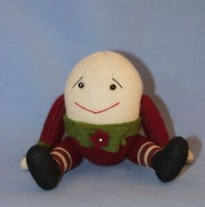 "DEB CANHAM  ""CHRISTMAS  09 HUMPTY""  WOOL VELVETS--LIMITED EDITION OF 37 PIECES"