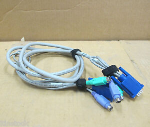 HP-KVM-6ft-Cable-Assembly-224386-002