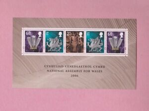 Great-Britain-2006-SGw143-National-Assembly-for-Wales-Mint-mini-sheet
