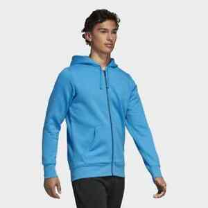 Athletic Blue Nieuw Running Gym Herenhoodie Training Dn8798 Adidas Essentials Zip RfzXYx4Xwq