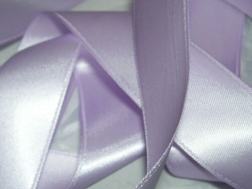 Lilac Double Sided Satin Ribbon 3mm 6mm 10mm 16mm 25mm 38mm
