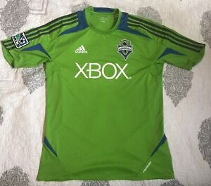 Adidas MLS MENS Seattle Sounders Clima-lite Soccer Green Jersey ...