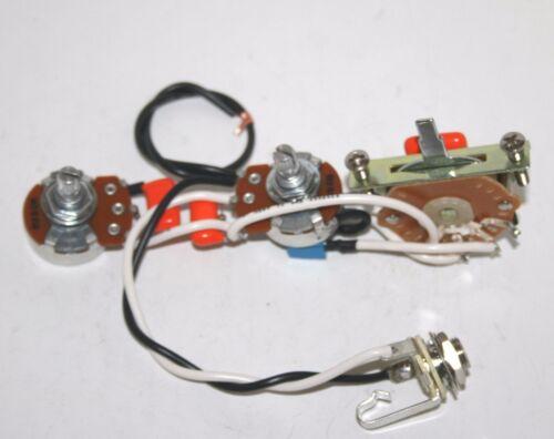 fender telecaster premium 5 way switching solderless control loom