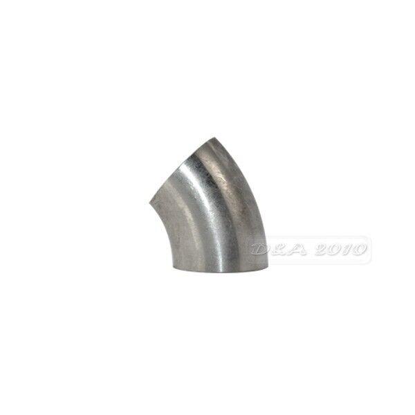 φ25 OD25mm 1'' Sanitary Weld Elbow Pipe Fitting 45 Degree Stainless Steel 304