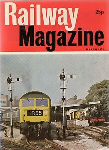 The Railway Magazine  March 1975 published by IPC Transport Press - <span itemprop=availableAtOrFrom>Machynlleth, Powys, United Kingdom</span> - I do try to list all items as accurately as possible and am dedicated to superior customer service. If for any reason you are not 100% satisfied with your purchase, please let  - Machynlleth, Powys, United Kingdom
