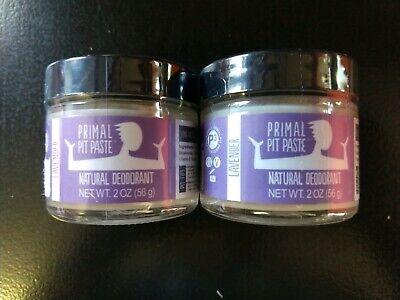 Best Natural Deodorant 2020.Lot Of 2 Primal Pit Paste Natural Deodorant Lavender 2oz Each Sealed 818328020026 Ebay