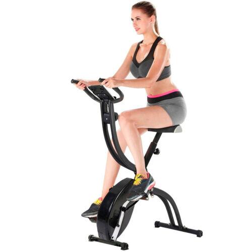Pro Fitness Cycling Bicycle Folding Exercise Bike Gym Training Cardio Workout US